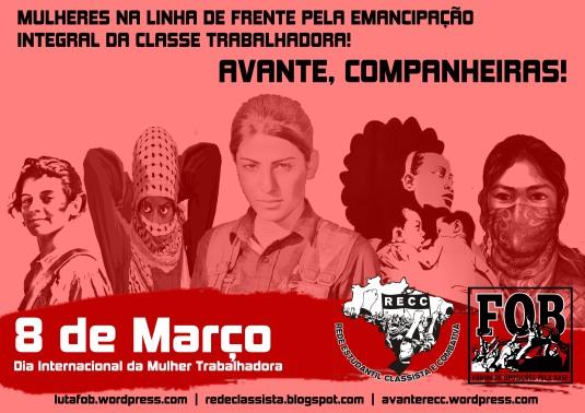 cartaz 8 de março